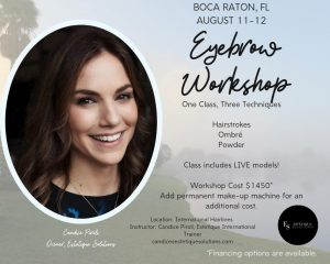Eyebrow workshop: One Class, Three Techniques