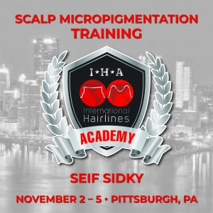 Pittsburgh, PA: Scalp Micropigmentation Training w/ Seif Sidky