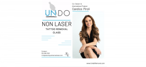 Portland, OR: UNDO Non Laser Tattoo Removal Training with Candice