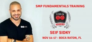 Boca Raton, FL: SMP Fundamentals Training with Seif Sidky